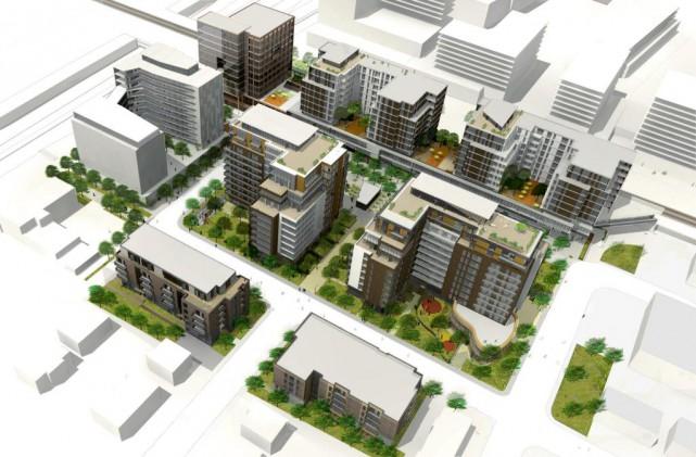 Le projet Westbury tel que conçu par lepromoteur... (Image fournie par lepromoteur)