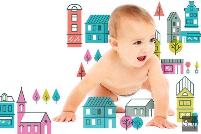 Les services à l'enfance sont de plus en plus nombreux au Québec. Pourtant, les... (Photomontage La Presse)