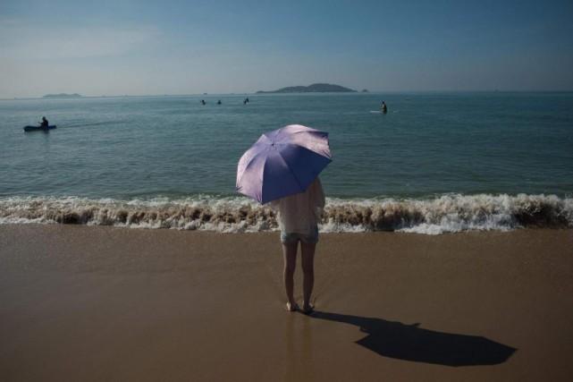 Marielle veut voyager lorsqu'elle sera retraitée.... (Photo Nicolas Asfouri, Agence France-Presse)