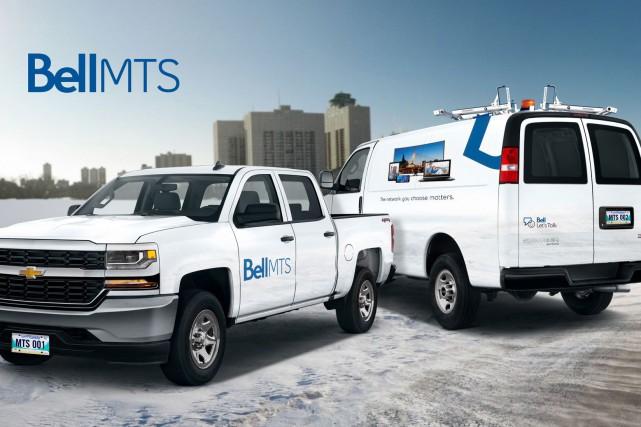 Les deux entreprises de télécommunications ont conclu cette... (Photo CNW/Bell Canada)
