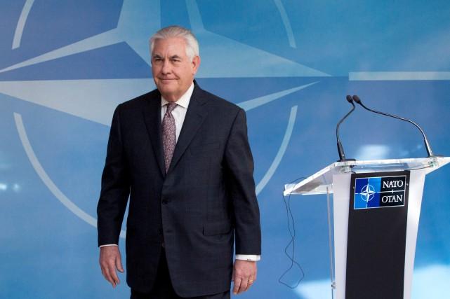 Rex Tillersonprésidera le 28 avril une réunion sur... (Photo Virginia Mayo, REUTERS)
