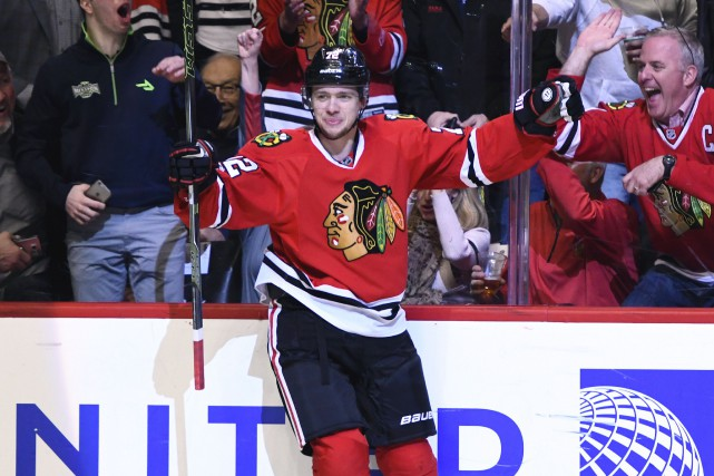 Artemi Panarin... (Photo Matt Marton, USA Today Sports)