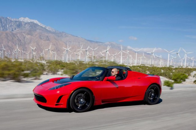 Le Tesla Roadster original.... (PHOTO TESLA Motors)