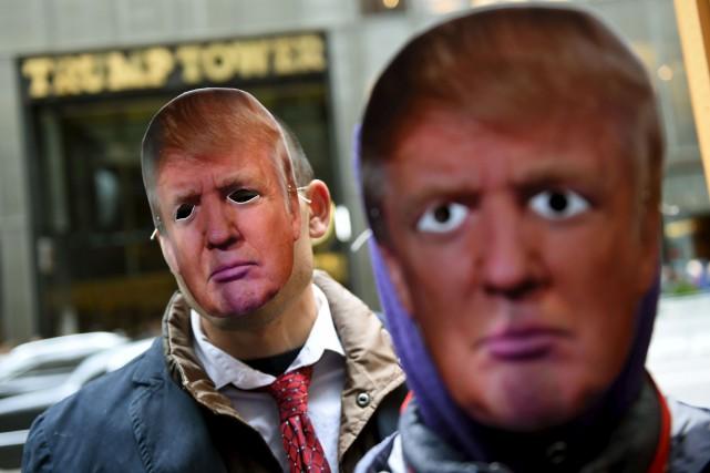 Donald Trump a été élu le roi des... (AFP, Timothy A. Clary)