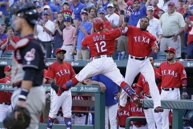 Les Rangers du Texas sont l'équipe dont la... (AP, LM Otero)
