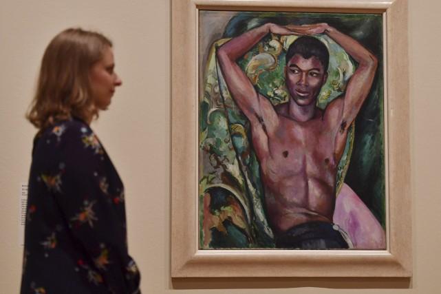 La première grande rétrospective d'art homosexuel ouvre mercredi... (AFP, Ben Stansall)