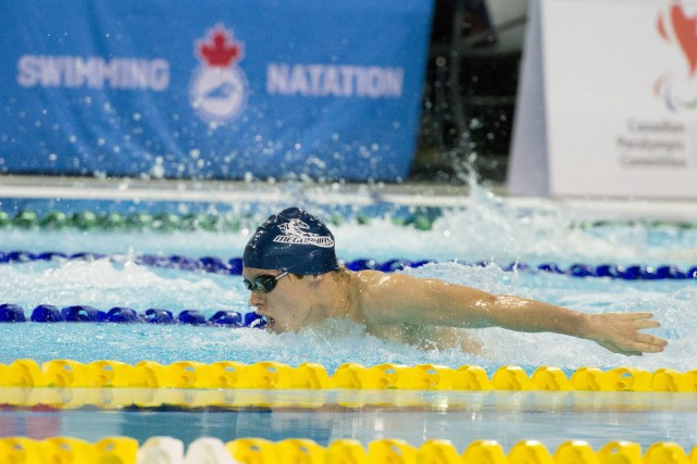 Philippe Vachon a enregistré un nouveau record canadien... (Kevin Jarrold)