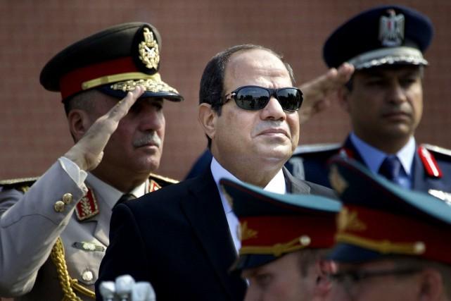 Abdel Fattah al-Sissi,ex-chef de l'armée égyptienne, qui a... (AP)