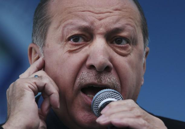 Le président turc Recep Tayyip Erdogan.... (AP)