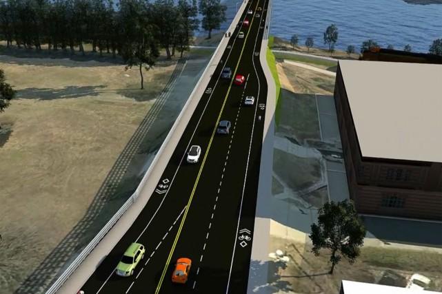 Les automobilistes qui empruntent régulièrement le pont Jacques-Cartier devront... (Capture d'écran)