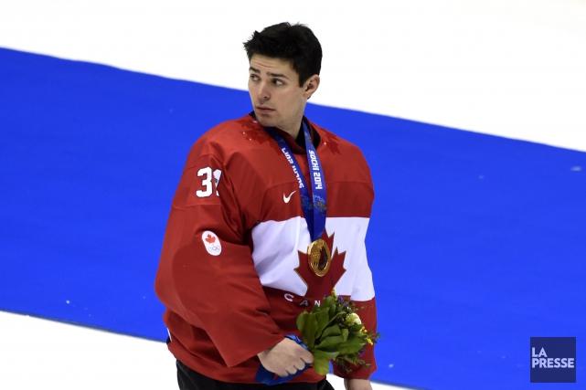 Carey Price a remporté la médaille d'or avec... (Photo Bernard Brault, archives La Presse)