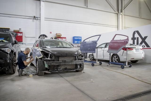 Le président de Fix Auto World, Steve Leal,... (La Presse Marco Campanozzi)