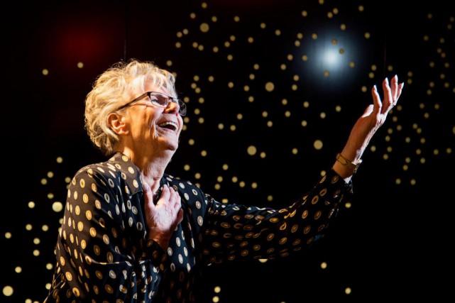 À 87 ans,Béatrice Picardmonte sur scène pour incarner... (PHOTO ALAIN ROBERGE, LA PRESSE)
