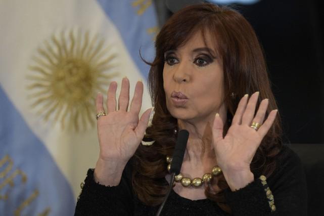 Cristina Kirchner... (PHOTO ARCHIVES AFP)