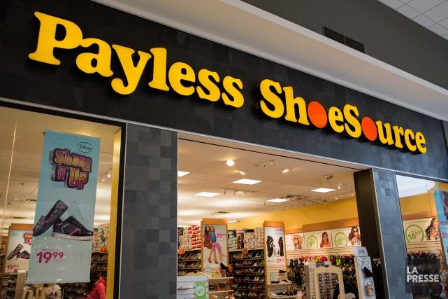 Payless a l'intention de réduire sa dette de... (PHOTO EDOUARD PLANTE-FRÉCHETTE, LA PRESSE)
