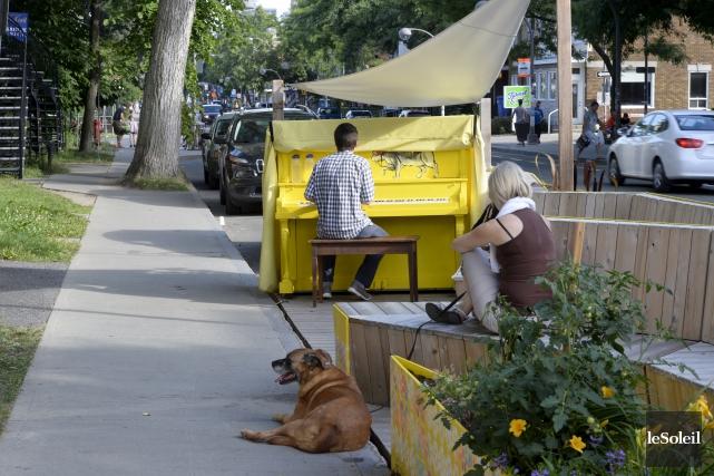 Le «stationnement pour piétons» sera vraisemblablement remplacé par... (Photothèque Le Soleil, Jean-Marie Villeneuve)