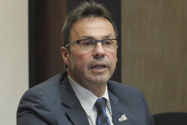 Le maire de Shawinigan, Michel Angers.... (Sylvain Mayer, Le Nouvelliste)