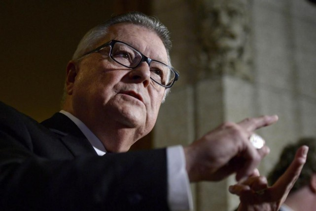 Selon le ministre fédéral de la Défense Ralph... (Photo Justin Tang, archives La Presse canadienne)