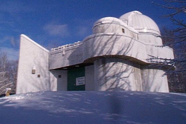 L'observatoire du Cégep de Trois-Rivières à Champlain.... (François Gervais, Le Nouvelliste)