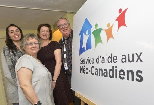 LeBuffetinterculturel du Service d'aide aux Néo-Canadiens (SANC) se... (Spectre Média, Maxime Picard)