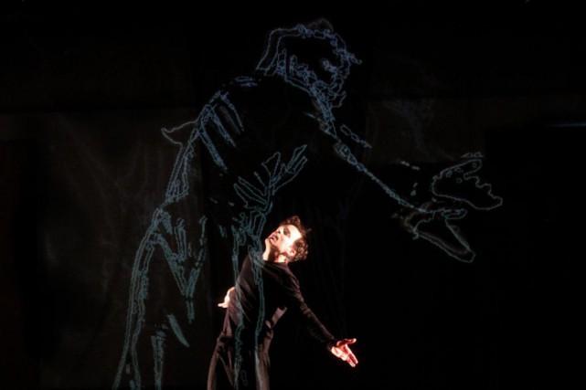 Marc Beaupré dans Hamlet_director's cut... (photo fournie par Benoît Beaupré)