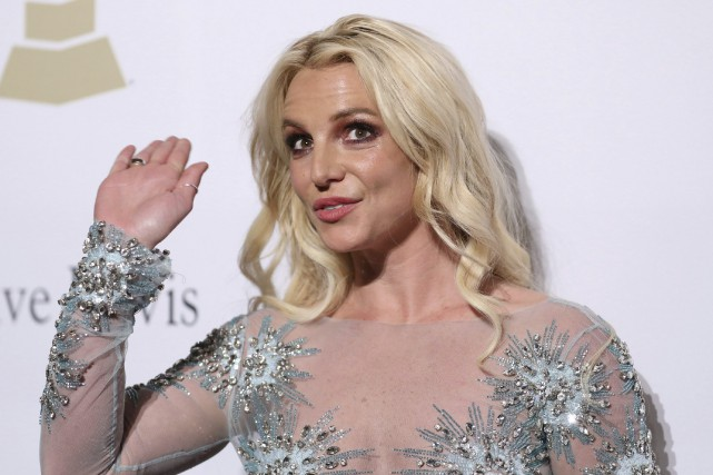 Britney Spears... (Photo Rich Fury, AP)