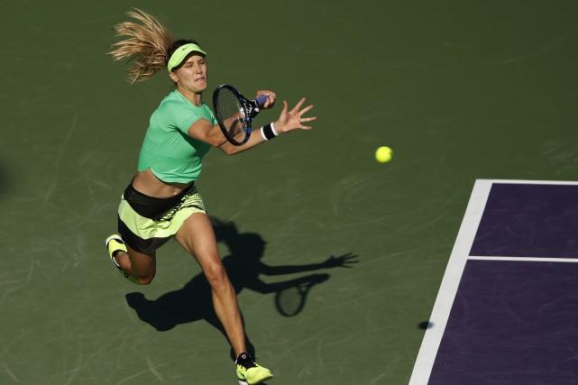 Eugenie Bouchard... (Photo Geoff Burke, USA Today Sports)