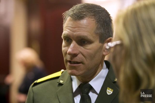Le directeur de la Sûreté du Québec, Martin... (PHOTO OLIVIER JEAN, ARCHIVES LA PRESSE)