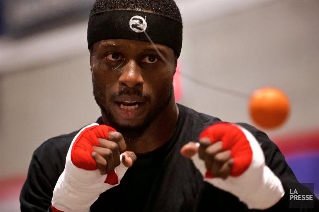 Le boxeur montréalais Custio Clayton... (Photo André Pichette, archives La Presse)