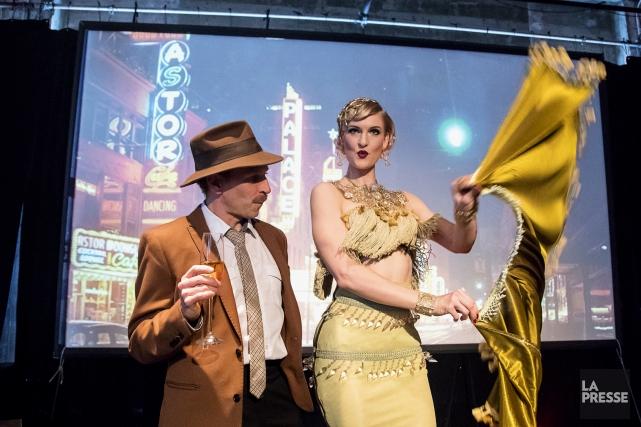Le spectacle Vice & Vertudes 7 doigtsrecréera le... (Photo Alain Roberge, La Presse)