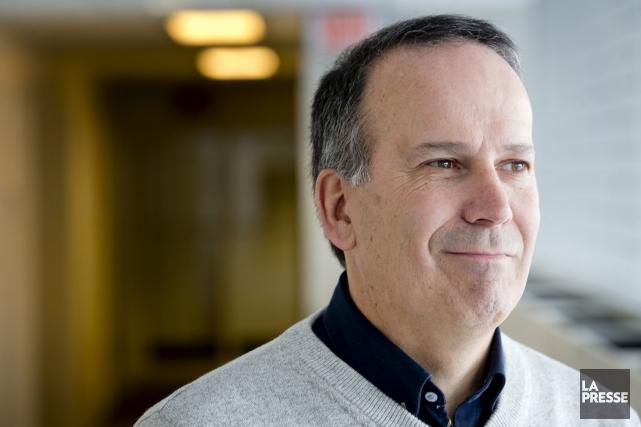 Jonathan Deslauriers est l'un des trois auteurs du... (Archives La Presse, MARCO CAMPANOZZI)