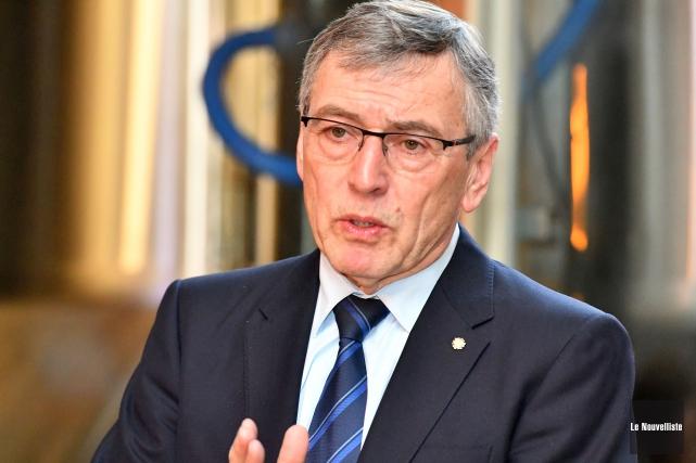 Le président directeur général du Conseil québécois de... (Stéphane Lessard, Le Nouvelliste)
