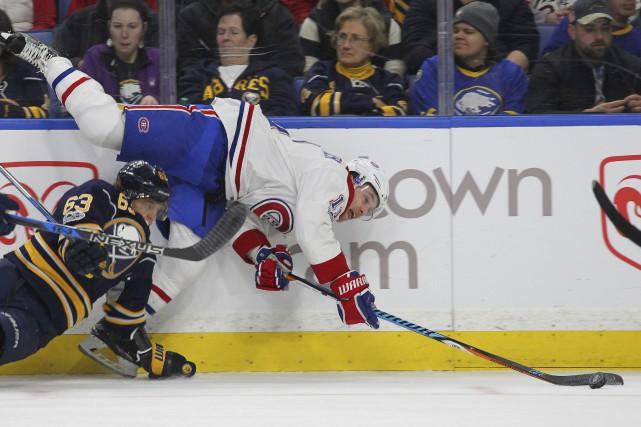 Le Canadien s'est présenté au domicile des Sabres... (Associated Press)