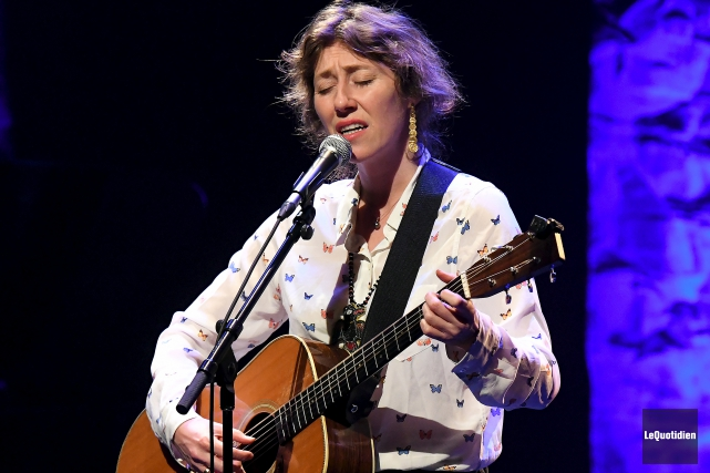 Martha Wainwright... (Photo Le Quotidien, Rocket Lavoie)