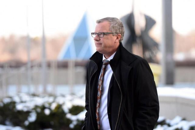Au cours de son séjour à Washington, Brad... (PhotoSean Kilpatrick, Archives La Presse canadienne)