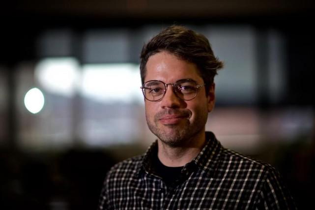 Jean-Noé Landry, porte-parole d'OpenCorporates et directeur de l'organisme... (Photo André Pichette, La Presse)