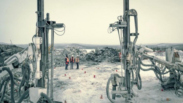 Les projets vont bon train dans les mines... (Photo fournie par Nemaska Lithium)
