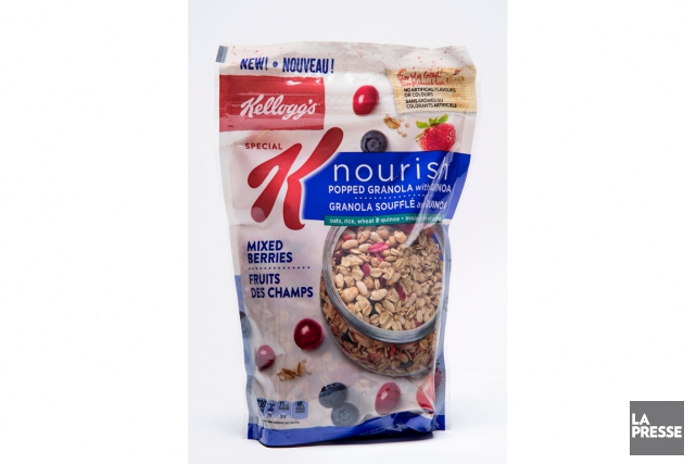 Granola soufflé avec quinoa aux fruits des champs... (Photo Alain Roberge, La Presse)