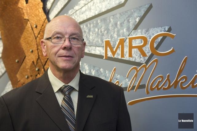 Le maire de Saint-Mathieu-du-Parc, Claude McManus, est un... (Stéphane Lessard, Le Nouvelliste)