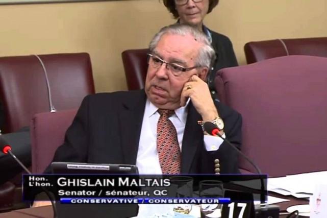 Le sénateur conservateur Ghislain Maltais... (YouTube)