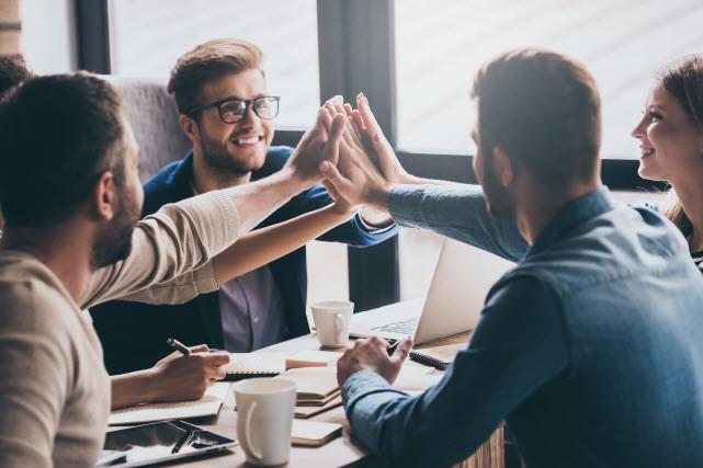 Les bons leaders favorisent le travail d'équipe