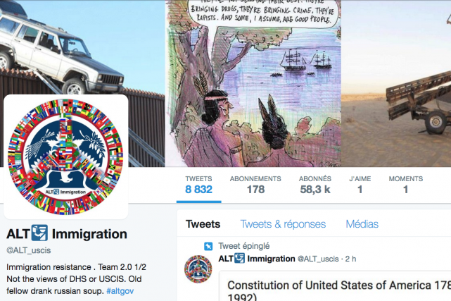 Le compte ALTImmigration a été créé en janvier...
