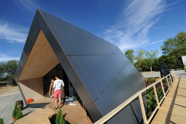 Une maison faisant partie du concours en 2012... (PHOTO DOMINIQUE FAGET, ARCHIVES AFP)
