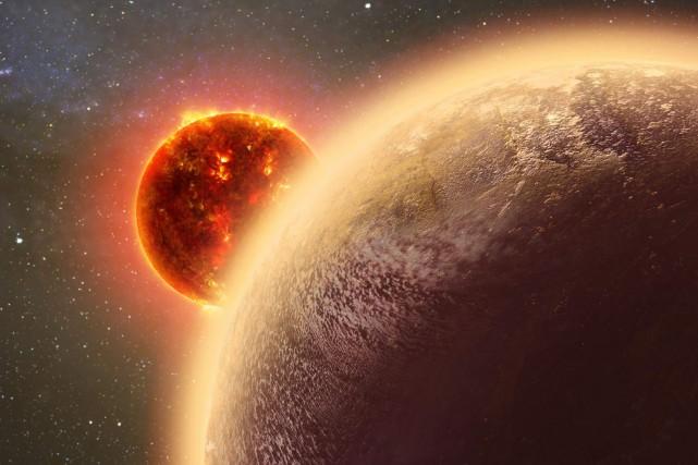 Cette exoplanète appelée GJ 1132b est environ 16%...