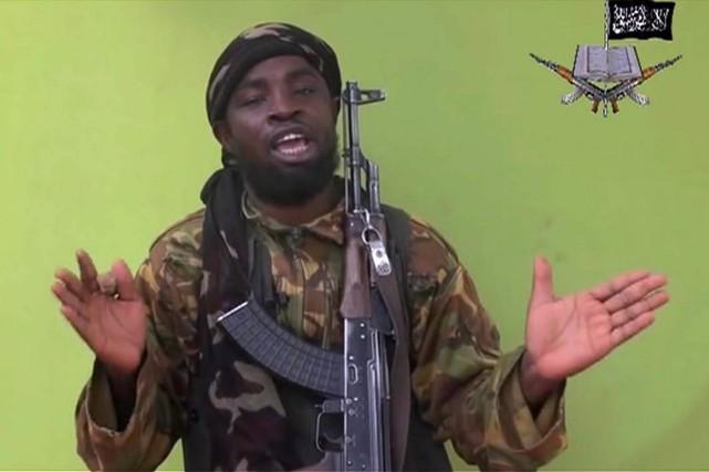 Le leader de Boko Haram, Abubakar Shekau.... (PHOTO ARCHIVES AP)