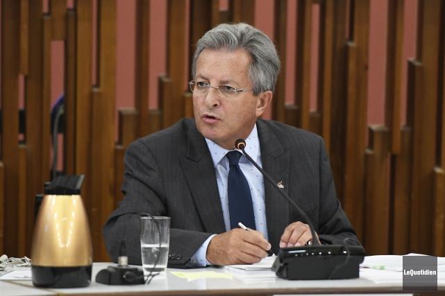 Le maire de Saguenay, Jean Tremblay... (Archives Le Quotidien, Mariane L. St-Gelais)