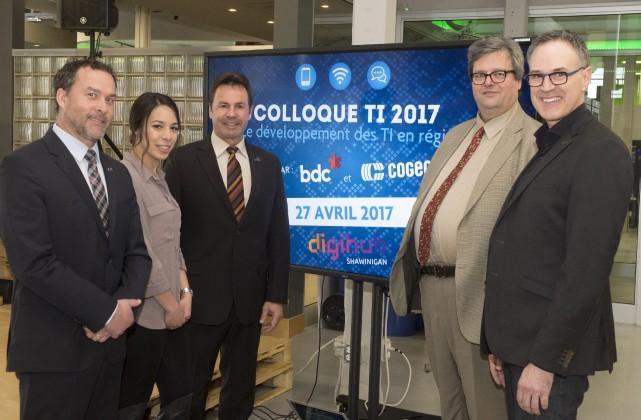 Le DigiHub accueillera le Colloque des TI pour... (Stéphane Lessard)