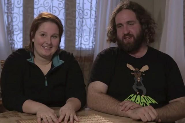 La Bromontoise et l'agriculteur de 28 ans sont... (Capture d'écran)