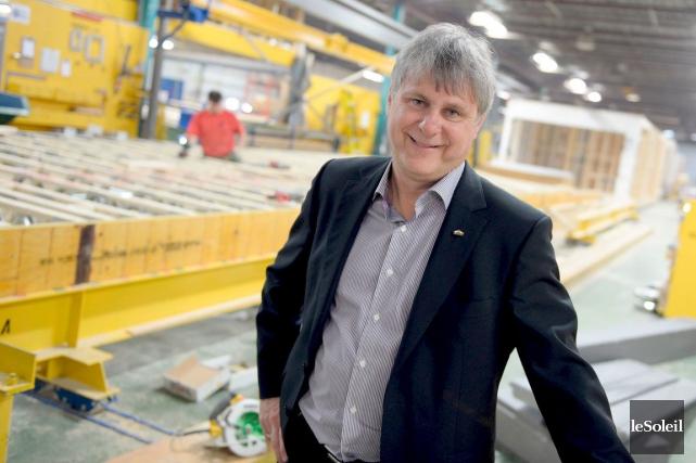 Daniel Laprise, président de Maisons Laprise... (Photothèque Le Soleil, Erick Labbé)