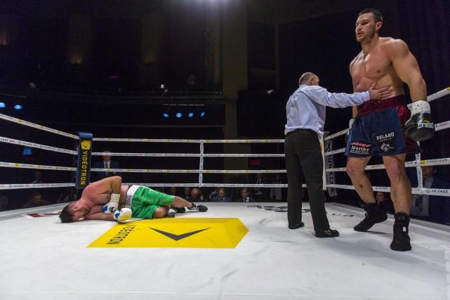 Simon Kean a vaincu Michael Marrone par K.-O.... (La Presse)